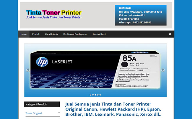 Tinta Toner Printer