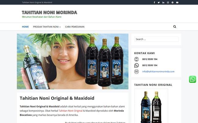 Tahitian Noni Morinda